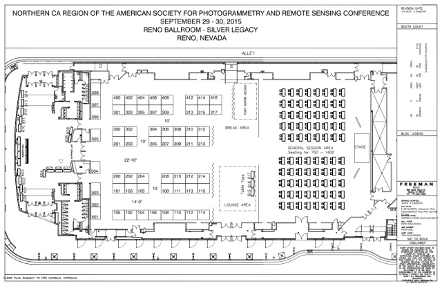 ASPRS 2015 Floor Plan