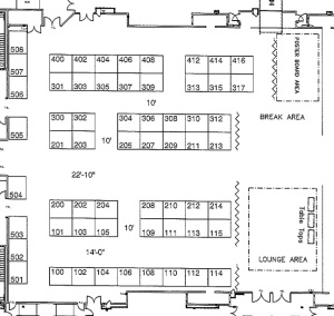 ASPRS Floor Plan