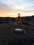 Survey at Sunset