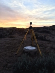 Survey at Sunset