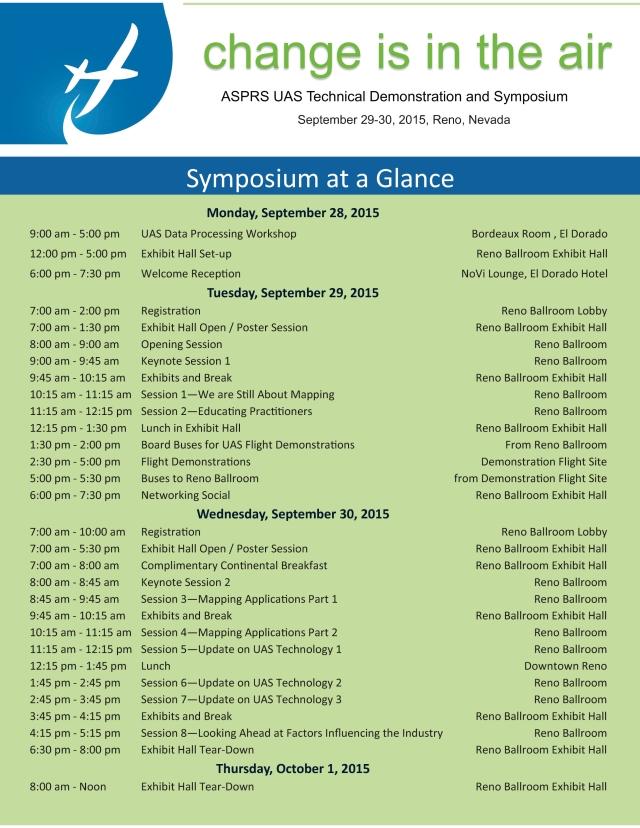 Symposium Glance